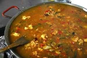 cuisson du riz aux légumes
