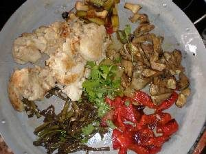 légumes fris