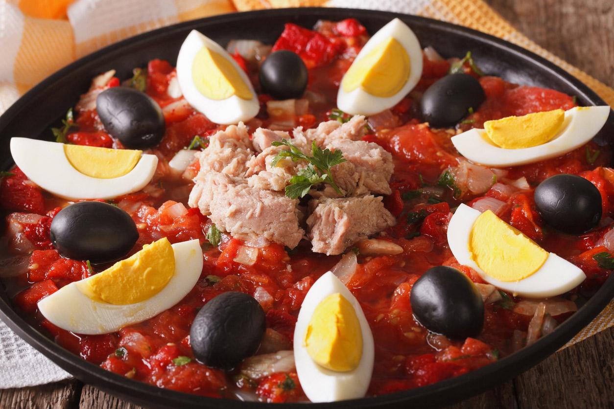 Recette de la salade de Murcie – Ensalada Murciana