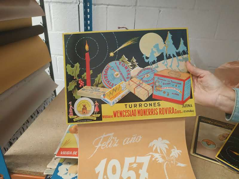 1957 calendrier promotionnel