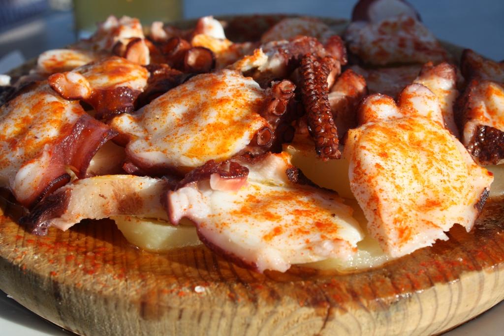 Poulpe à la Galicienne – pulpo a la gallega