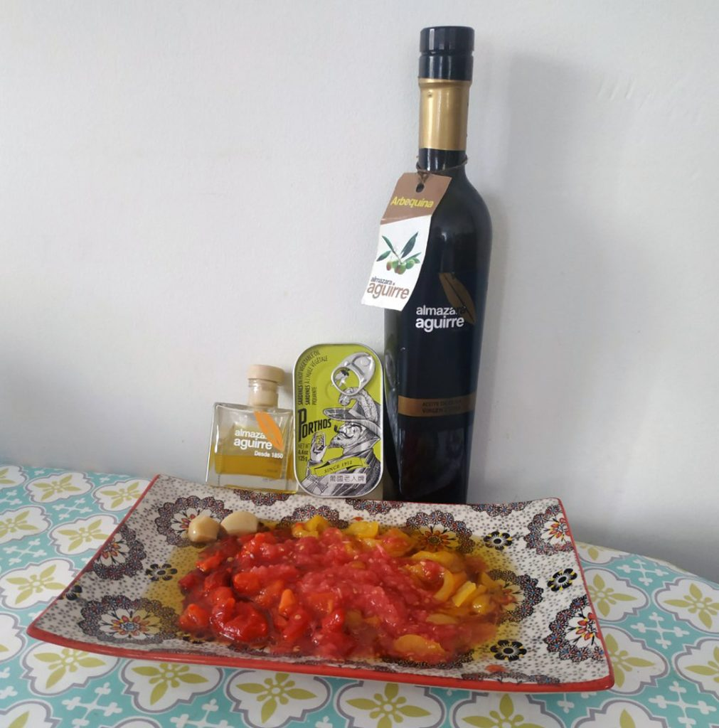 carpaccio de poivrons