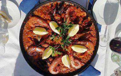 La paella de Marisco, la paella aux fruits de mer