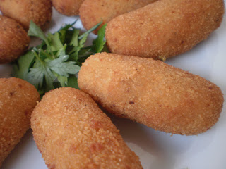 croquetes manchego fromage