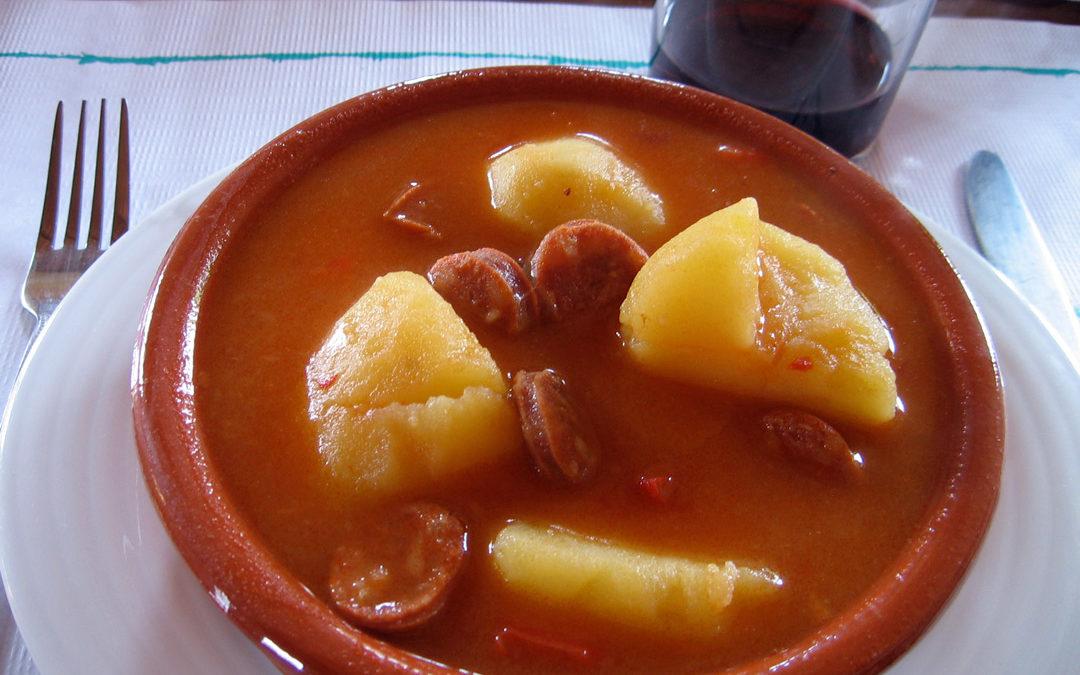 pommes de terre à la riojana