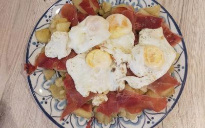Recette des Huevos rotos Espagnols
