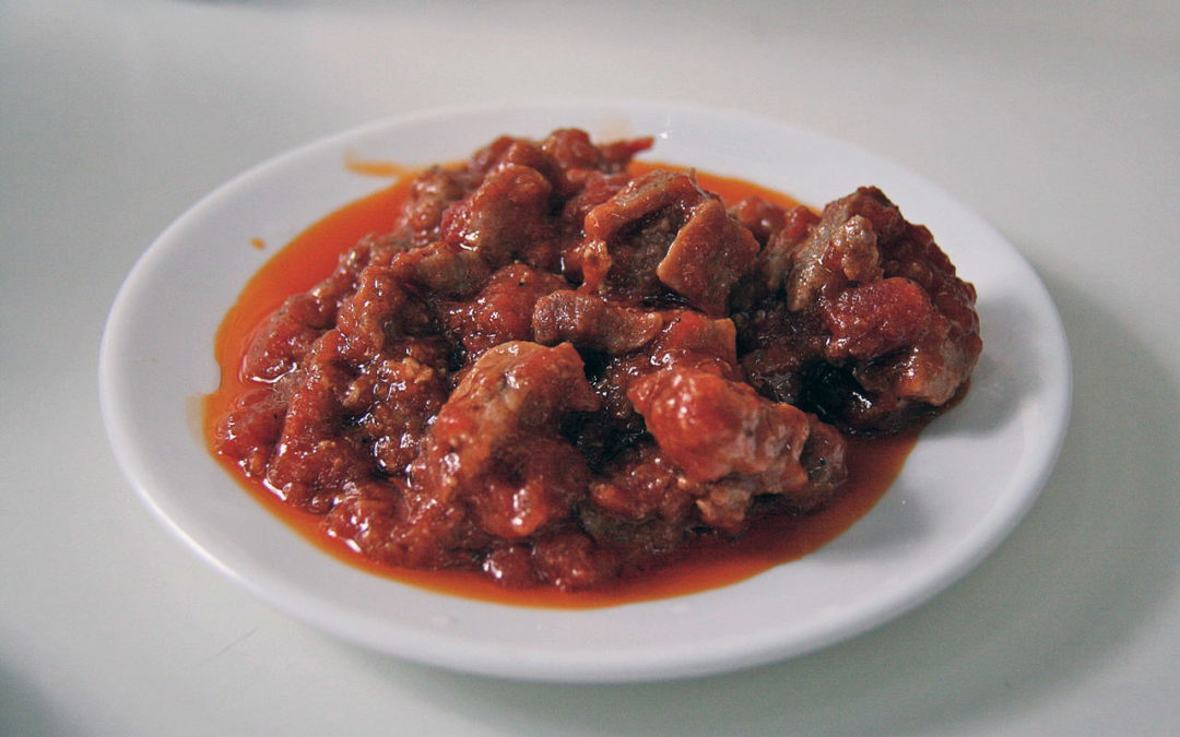 magra con tomate