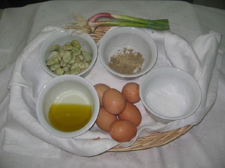 ingredients tortilla aux feves